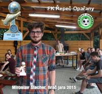Miloslav Štecher jako hráč JARA 2015 FK Řepeč-Opařany, muži A i B